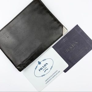Prada Leather Bifold Wallet